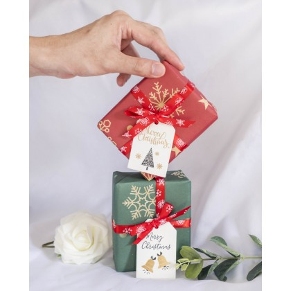 Complementary Gift Wrapping Service and Greeting Card