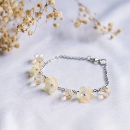 Haru Hana-Lemon Yellow Bracelet