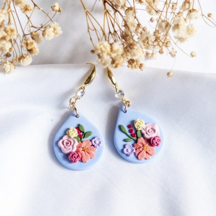 Florescer Polymer Clay Earring
